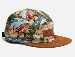Grizzly Cliff 5 Panel <b>Hat</b> By THE QUIET LIFE