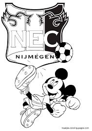 Nec Mickey Mouse Kleurplaat