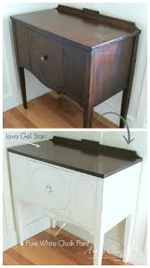 Sideboard Makeover with Java Gel and Chalk Paint Before and After 1 javagel chalkpaint anniesloan makeover artsychicksrule 503x900