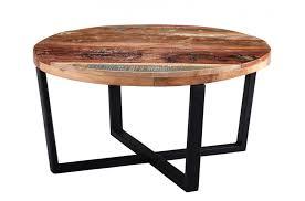 indian hub coastal reclaimed wood round