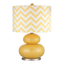 charming yellow glass table lamp century vintage tall glass lamps