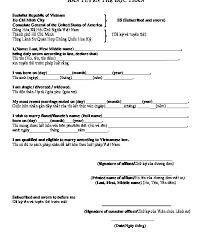Sample Affidavit Adorable Blank And Sample Affidavit Single Status For Marriage In Vietnam