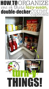 finally this lazy susan cupboard organizer thing makes sense