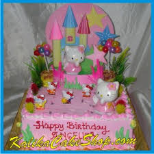 Hello Kitty Background Cake Angelica Kue Ulang Tahun Bandung