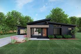 Small ultra modern house floor plans. Modern House Plans Floor Plans Designs Houseplans Com
