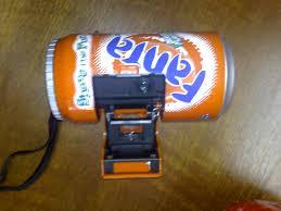 cool fanta custom can shaped 35mm promotional camera