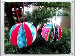 Christmas Paper Balls Decoration How to make Paper Ball Ornaments Christmas Craft Easy Quick 2