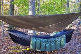 Hammock Camping Part III: Helpful tips and resources for a virgin ... & A good under quilt ... Adamdwight.com