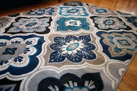 navy blue round rug light blue and white rug bed bath sky blue rug blue white