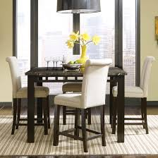 Round Dining Table With Bars Matching Excellent Magnificent