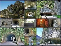 「1763年耶馬渓に、禅海青の洞門開通」の画像検索結果