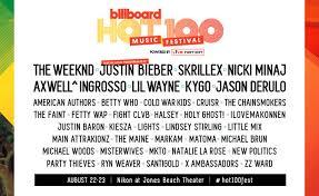 Billboard Hot 100 Bieber Aug 22 23 2015