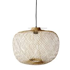 Handmade Lamp From Bloomingville Originally Used In Thailand As