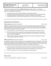 supervisor resume objective and get inspired to make your resume with these  ideas 18 - Resume