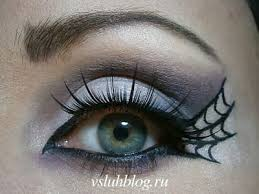 spider web eye for