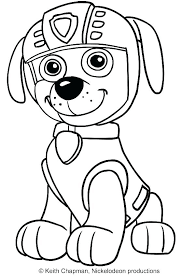 Coloring Pages Paw Patrol Tracker Pup Patrol Coloring Pages Coloring