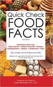 Food Charts Fascinating Quick Check Food Facts Barron's Editorial Staff Linda McDonald