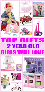 Top gifts for 2 year old girls! Here are the best that special girls 2nd birthday or her christmas present. Two will love any Best Gifts For Year Old Girls | Gift Guides Pinterest