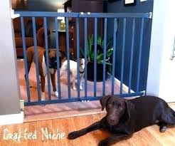 extra large dog gate pipe long gates for the house indoor uk wooden folding pet in