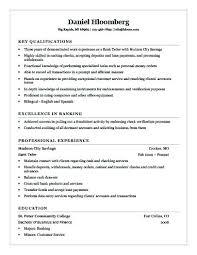 Entry Level Banking Resumes Bank Teller Resume Examples Entry Level Bank Teller Resume Bank