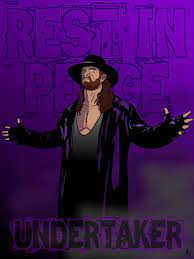 This page is a fan art tribute to the undertaker, one of the greatest wrestlers in history. Undertaker Fan Art Made In Medibang Wwe