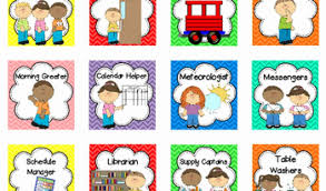 Pre K Job Chart Pictures Clip Art For Preschool Job Chart Preschool Responsibility