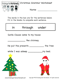 Christmas Grammar Worksheets 5th Grade Medium To Large Size Of ...
