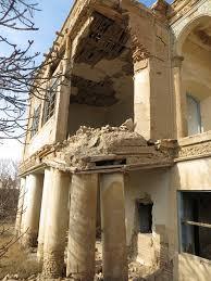 Image result for خانه تاریخی کلانتر تبریز در آستانه نابودی کامل قرار گرفت