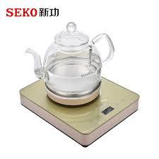 SEKO W13 <b>Automatic</b> electric kettle <b>high borosilicate glass</b> kettle ...