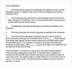 music management contract manager contract template oyle kalakaari co