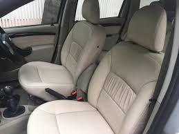 nissan terrano seats upholstered in our champagne beige soft italian nappa to see more details