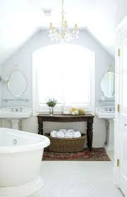 chandelier over tub code chandeliers chandelier over bathtub soaking tub white attic bathroom ideas with double