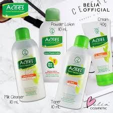 Acnes compact powder sudah teruji hypoallergenic sehingga cocok dipakai untuk kulit sensitif. Belia Acnes Natural Care Oil Control Series Milk Cleanser Toner Powder Lotion Cream Jerawat Shopee Indonesia