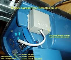 remote control system upgrade kit for marantec garage door operators