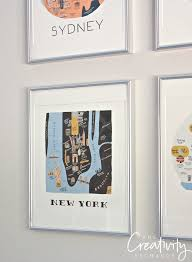 rifle paper company calendar framed into gallery wall  on new york in art wall calendar 2017 with 2017 rifle paper framable wall calendars are out