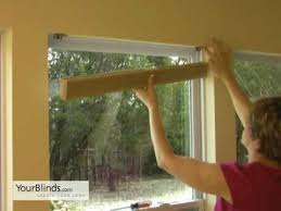 how to install cellular shades inside mount yourblinds com diy