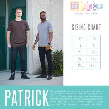 Lularoe Patrick T Size Chart Lularoe For The Lulabro In Your Life Or For You Whichever