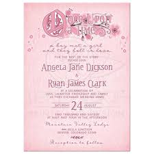 whimsical fairy tale floral wedding invitation pink and burgundy Time In Wedding Invitation whimsical pink, burgundy and white floral once upon a time fairy tale wedding time lapse wedding invitation
