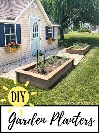 diy garden planter boxes the