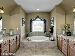 Contemporary Master Bathroom With Arched Window  Master Bathroom - Contemporary master bathrooms