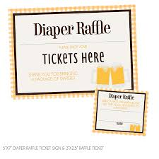 raffle sign baby is brewing diaper raffle tickets sign kateogroup