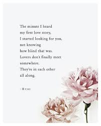 Pinterest Love Quotes Impressive Rumi Love Poem The Minute I Heard My First Love Story Anniversary