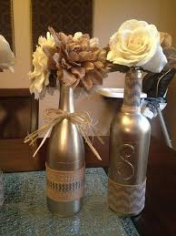 Decorated Wine Bottles Centerpieces 60 Beautiful Wine Bottles Centerpieces Perfect For Any Table 2
