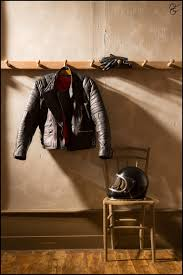 Motorcycle Coat Rack Coat rack and chair by the door garage stuff Pinterest Wheels 58