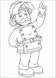 Brandweerman Sam Kleurplaat Mooi Fireman Sam Coloring Pages Within