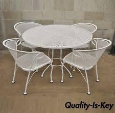 White Wrought Iron Outdoor Furniture Sets eBay