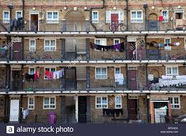 Council Flat Apartment Block In Whitechapel East London Much Of Affordable Apartments In East London
