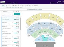 Park Theatre Las Vegas Seating Chart Ticket Prices Slashed For Bill And Hillary Clintons Tour