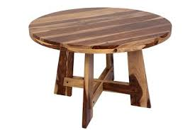 kalispell sheesham wood round dining table by porter designs designed in portland oregon