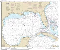 Gulf Of Mexico 2014 Old Map Nautical Chart 1 2 160 000 Sc Reprint 1007